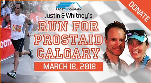 Justin Ferguson Runs for Prostaid Calgary at the LA Marathon March 18, 2018